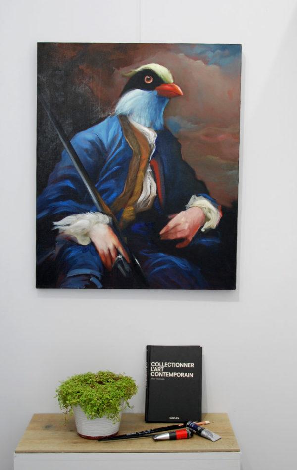 L'oiseau chasseur de Jérôme Bouscarat
