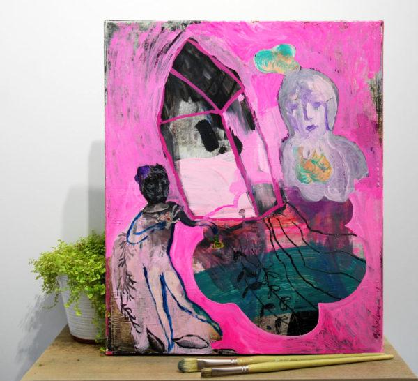 Vapeurs roses de Sophie Lormeau