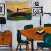 Salon aux chaises vertes