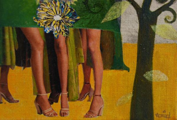 Les longues jambes de Valérie Auriel