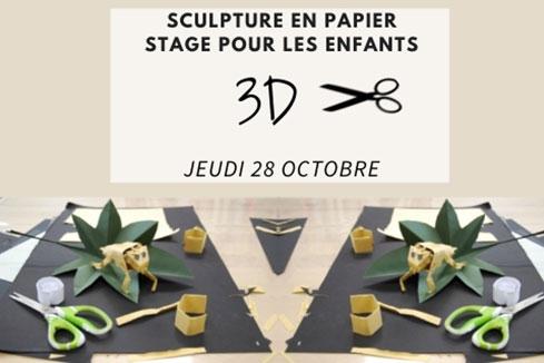 Réaliser une sculpture en papier
